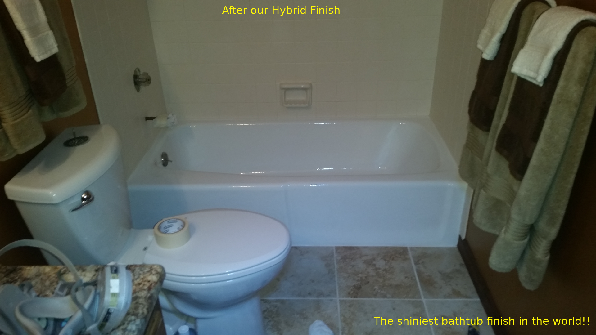 Best Bathtub Refinish, Resurface, Re-glaze and Remodel